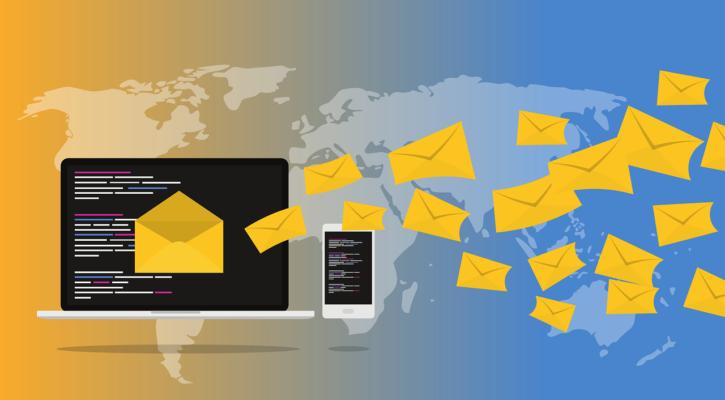 První e-maily